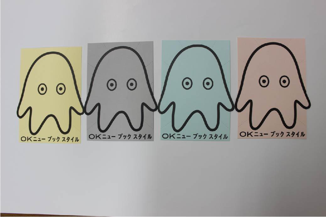 ニューブックスタイルグリーティングカード完成!!