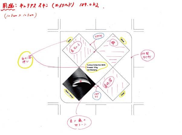 スキンBOX~箔押しカード~