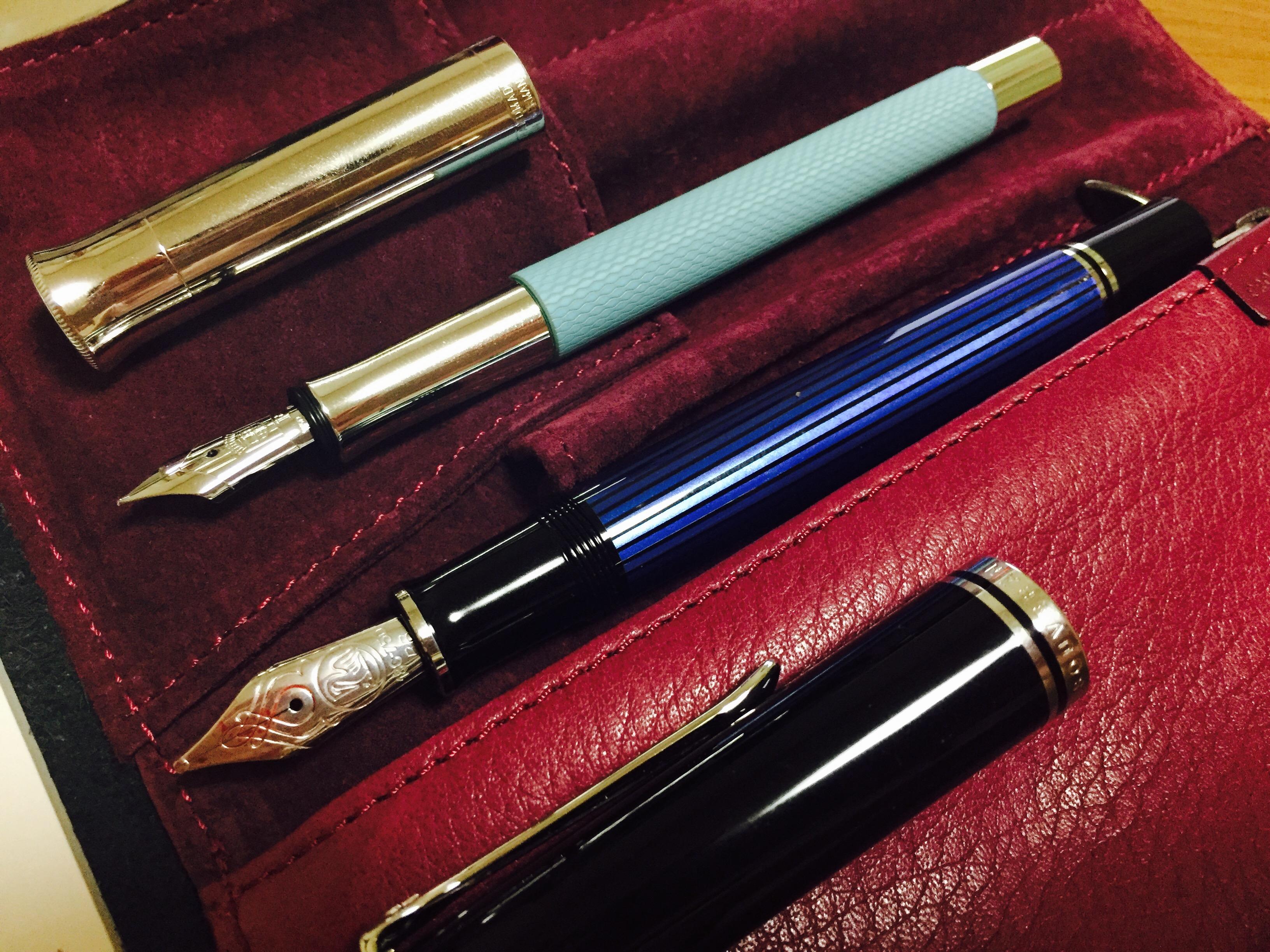 魅力的な筆